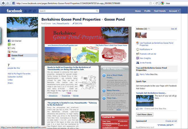 Berkshires Goose Pond Properties Facebook 1