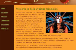 Teva Organics Website