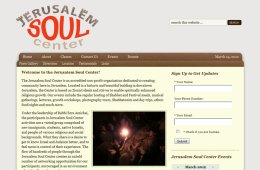 Jerusalem Soul Center Website