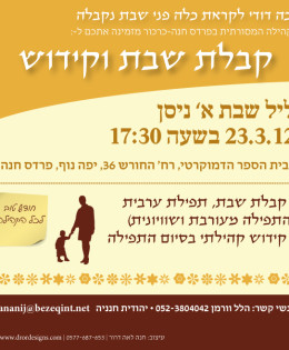March Pardes Chana Masorti Minyan 2