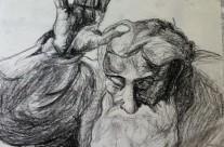 Sistine Chapel Sketch