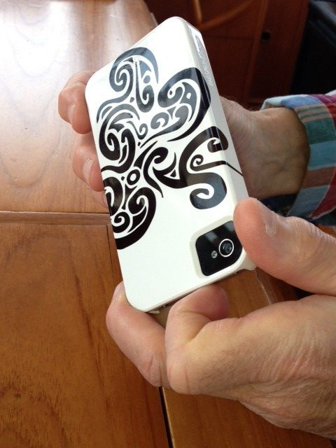 Dror Designs illustrated iphone case