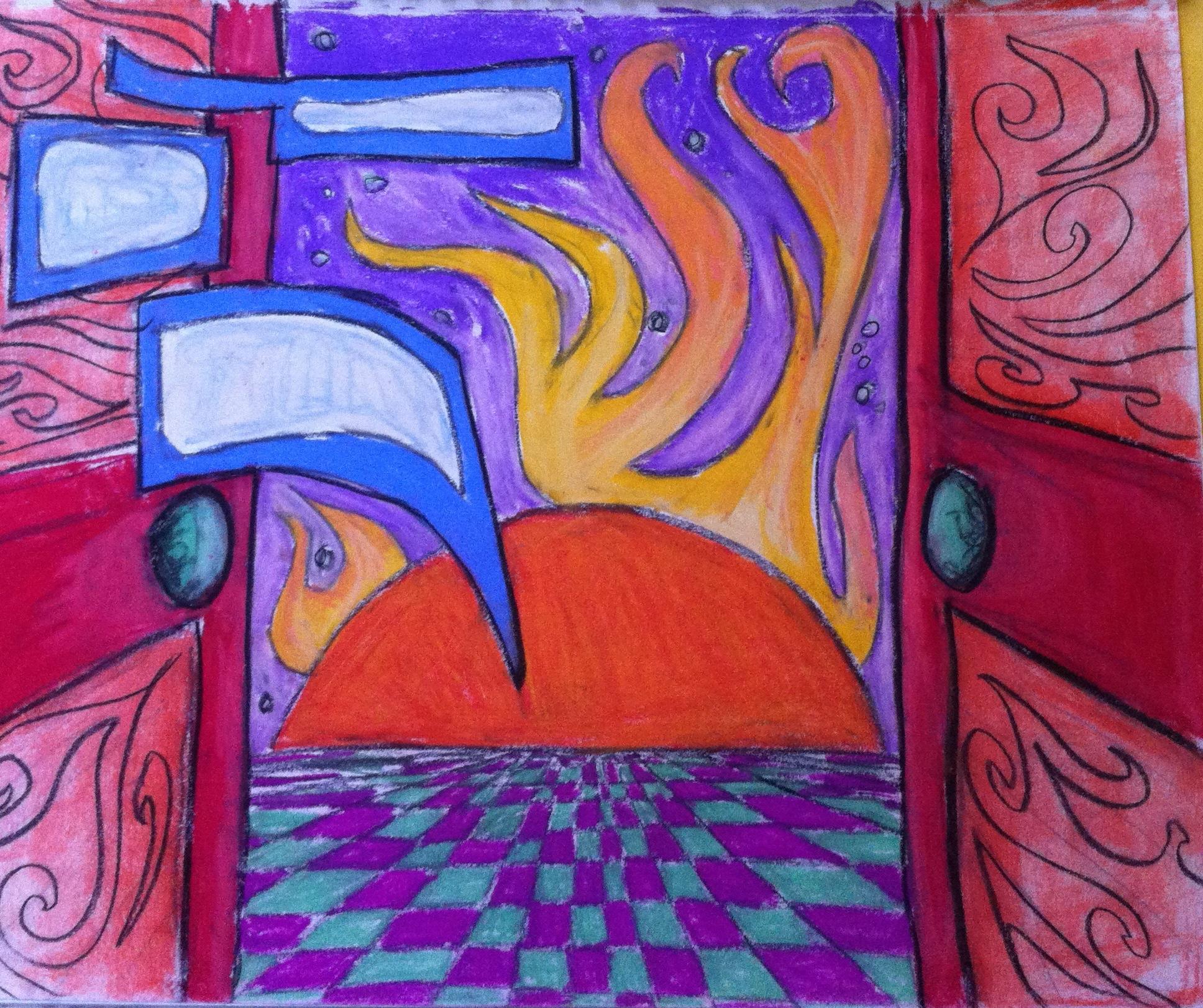 Pastel Drawing - Dror Designs